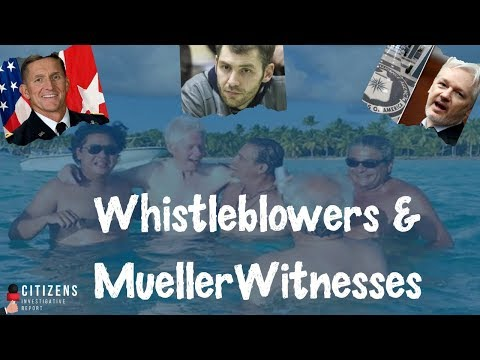 Whistleblowers and Mueller Witnesses