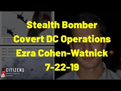 Stealth Bomber and Covert Operations in DC – BE READY!