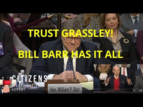 TRUST GRASSLEY! Billionaire CEO Whistleblower! Stay Tuned…