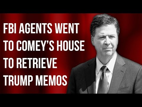 NEW DOCUMENTS Show FBI Agents Went to James Comey's Home to Retrieve Memos! | Tom Fitton