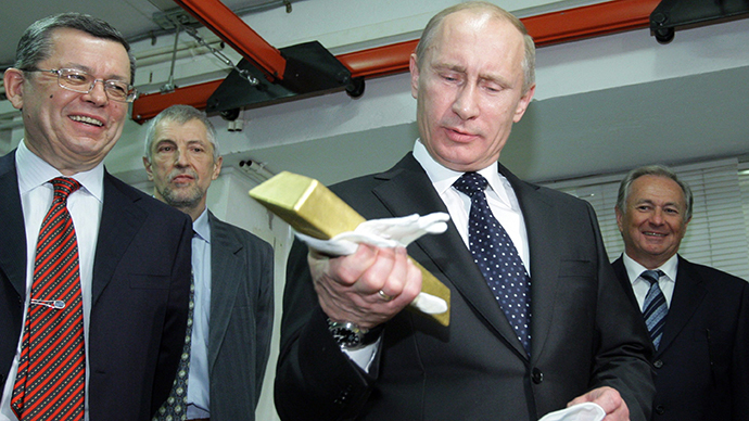 Russia Sold 85% of US Treasury Securities Last Year –– They Own Over $100 Billion in Gold