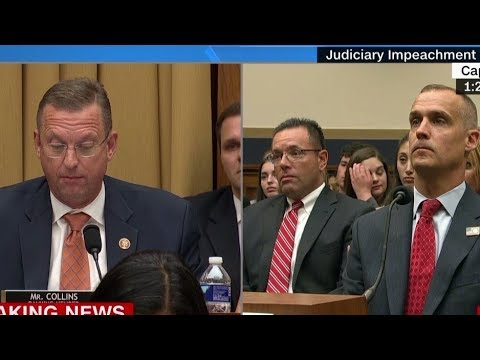 WHILE COREY SCHOOLED JERRY, ERIC & SHEILA…DOUG WAS THE UNSUNG HERO OF TODAY'S CIRCUS/HEARING!