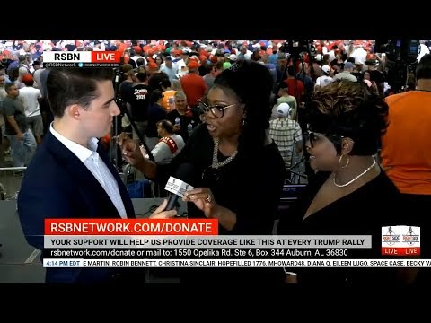Diamond and Silk interview with RSBN
