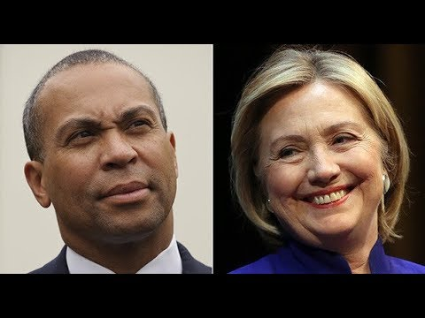 Deval Patrick Takes Key Support from Biden So Clinton Can Enter Presidential Contest