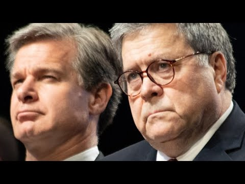 AG BARR FINALLY STOPS THE INJUSTICE! FBI DIRECTOR FALLS INTO RATCLIFFE'S TRAP! MUELLER'S CRIMES.