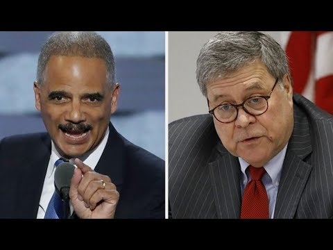 WHOA! AG BILL BARR TELS TRUMP TO STOP TWEETING!?? IS HE NEXT TO BE FIRED? BARR VS ERIC HOLDER
