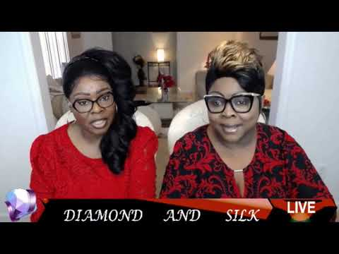 Diamond and Silk discuss the Itch of the Week Kim Foxx on Chit Chat Live 2-14-20