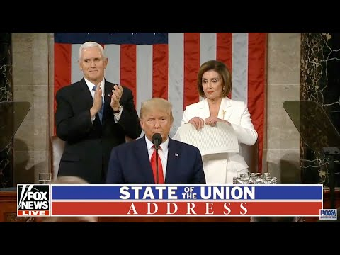 Trump and Pelosi Diss Each Other at SOTU