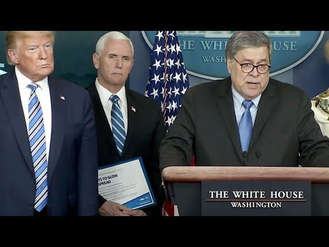 AG BILL BARR BARKED. THIS IS WHAT HAPPENED NEXT.