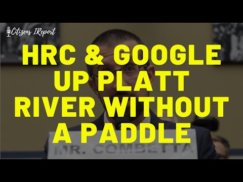 HRC & GOOG: Up Platt River without a Paddle