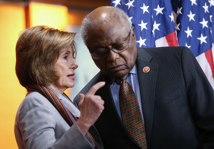 Rep. James Clyburn, Who Touted Coronavirus As 'Tremendous' Political Opportunity, to Take Helm of Pandemic Oversight Committee