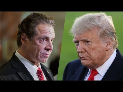 Cuomo Sues Trump Over Travel Restrictions Before New York Leads in Total Cases