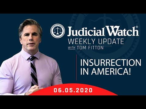 INSURRECTION in America! Important Clinton Email Update, Tom Fitton Testifies to Congress & MORE!
