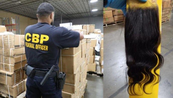 CBP Intercepts 13 Tons Of Human Hair From Chinese Prison Camps