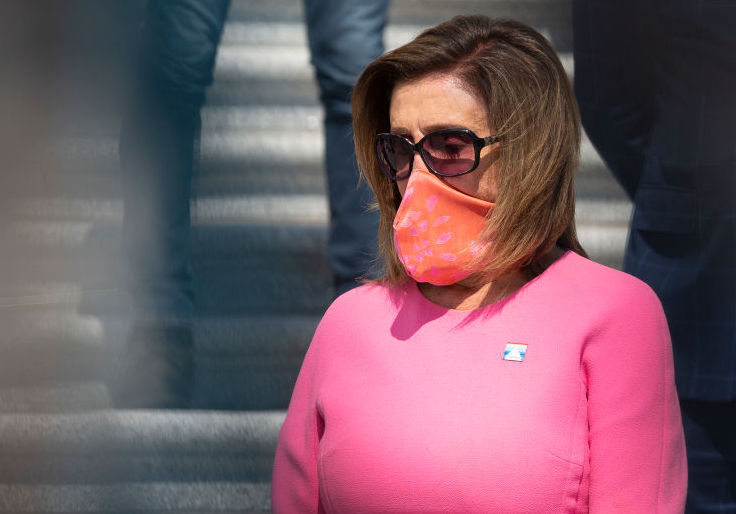 Pelosi Blames GOP for Russian Annexation of Crimea During Obama Admin