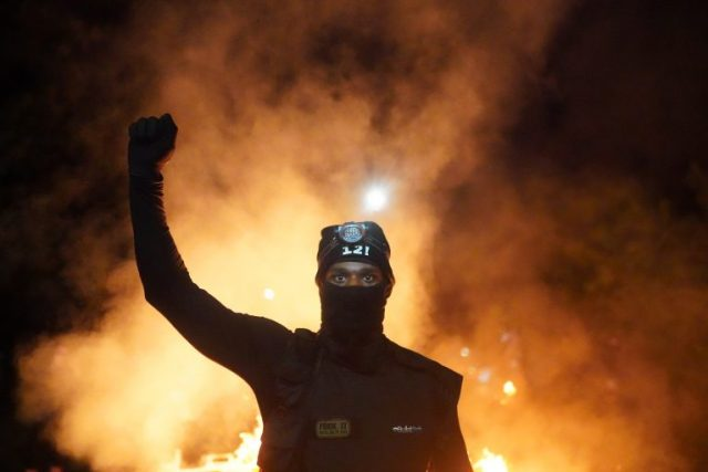 Police Respond To Continued Protests In Portland