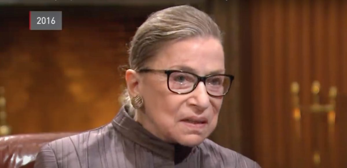 The Legal Legacy of Ruth Bader Ginsburg