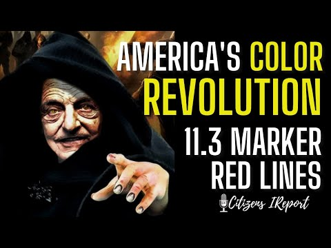 RELEASED TO THE PUBLIC:  America's Color Revolution, 11.3 Marker, Red Lines