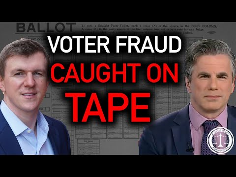Tom Fitton w/ James O'Keefe: VOTER FRAUD CAUGHT ON TAPE! #CashforBallots