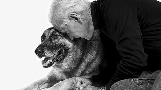 Biden Twists Ankle While Playing With Psychic Dog