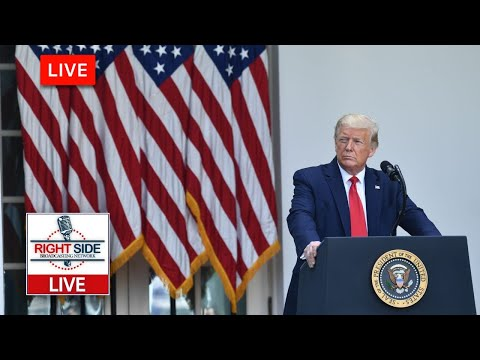Watch LIVE: President Trump Delivers Remarks from The Rose Garden on Operation Warp Speed