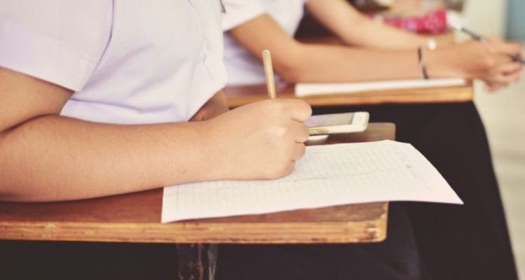 Representative Image - student writing in class