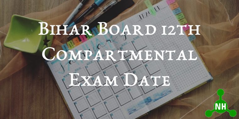 Bihar Board 12th Compartmental Exam Date
