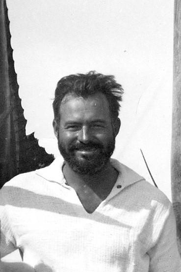 Ernest Hemingway on July 20,1935