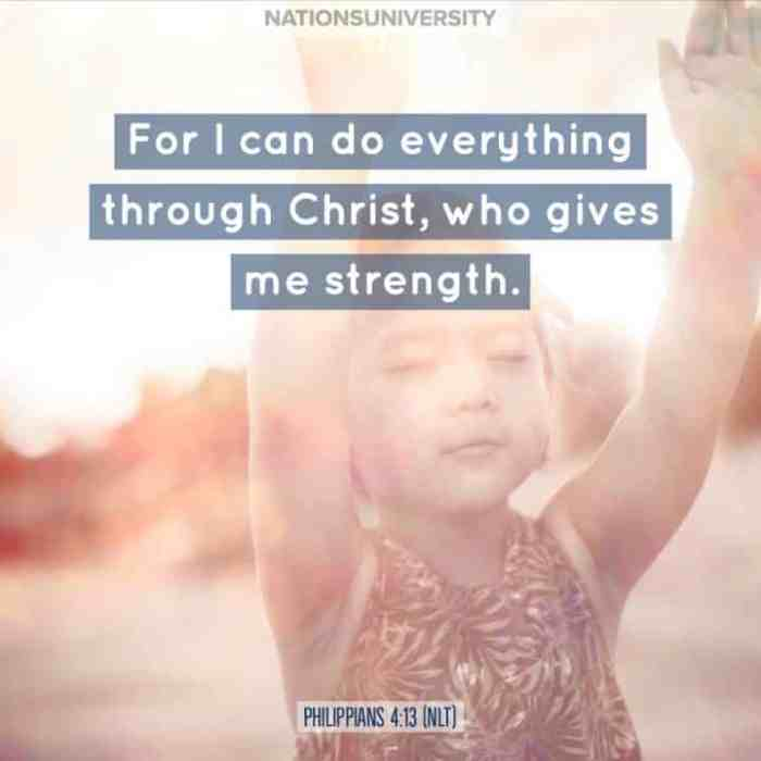 Weekly Reflection – I Can Do Anything