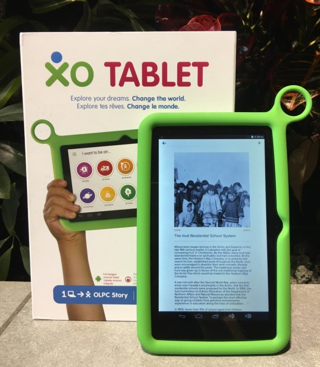 Tablet Residential School