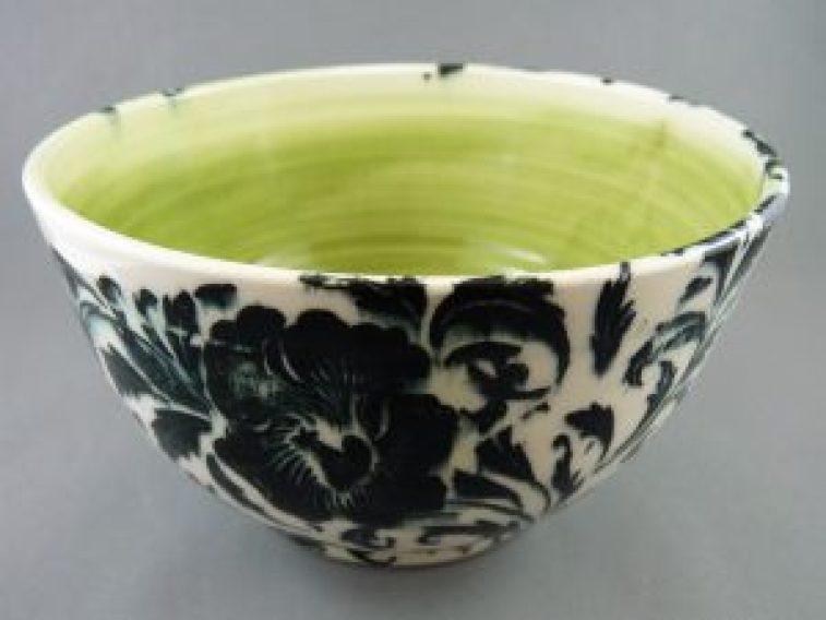 A bowl by Diane Sullivan.