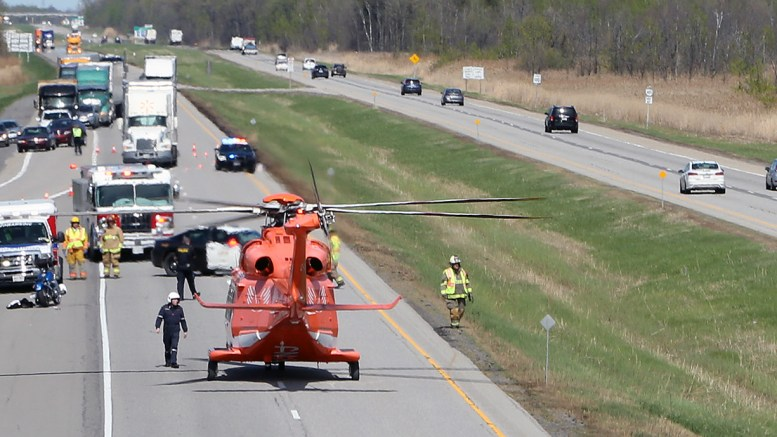 By Photo Congress || Accident On Highway 401