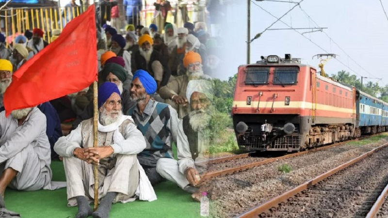 'Farmers' to stop rail on February 18 after Chakka Jam: 'Movement Jeevans' announced toll free and candle march