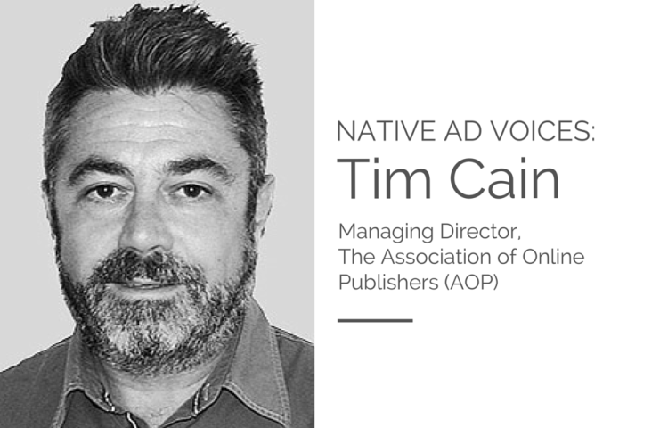 Native Ad Voice - Tim Cain