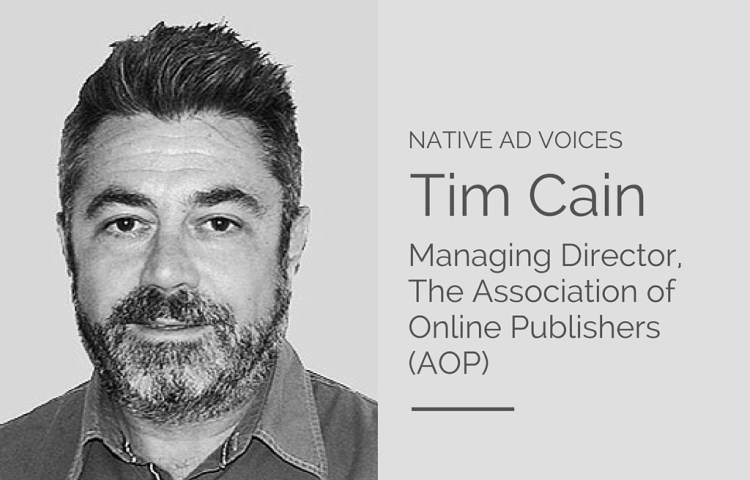 tim cain - native ad voices