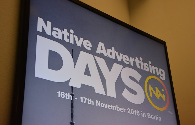 Native Advertising key take-outs