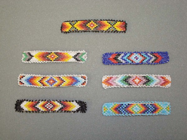 Beaded Barrette 1-1097