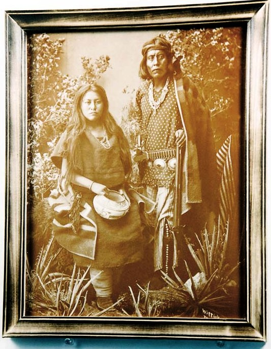 Gayentenito & Navajo Wife Tin-Type Print 16-12-20