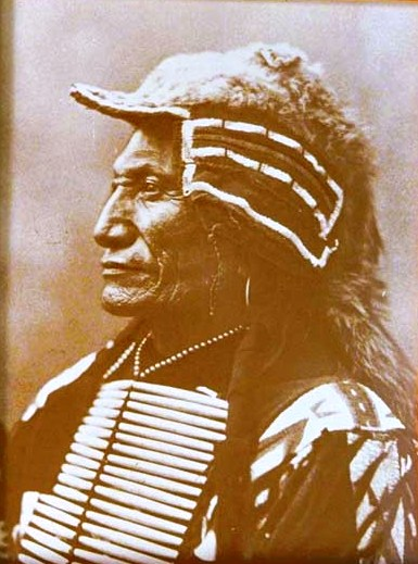 Chief Broken Arm Tin-type Print 16-12-24