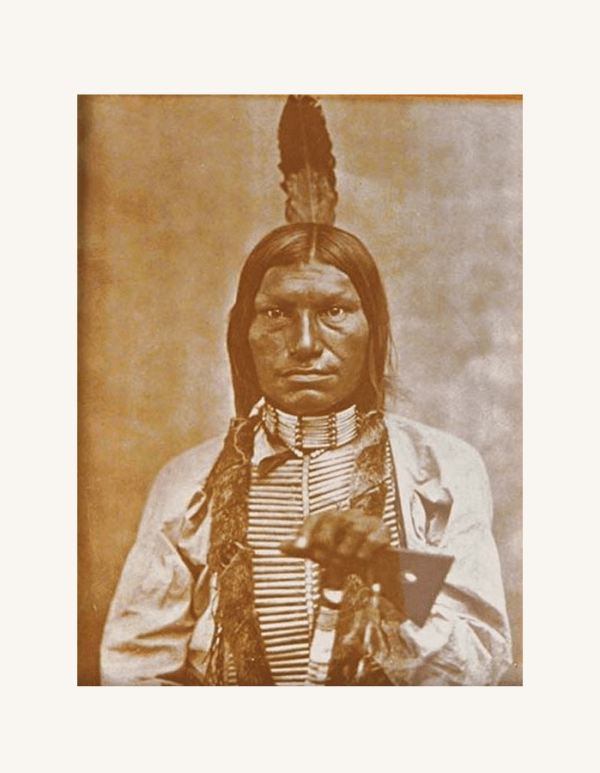 Chief Low Dog Tin-Type Print