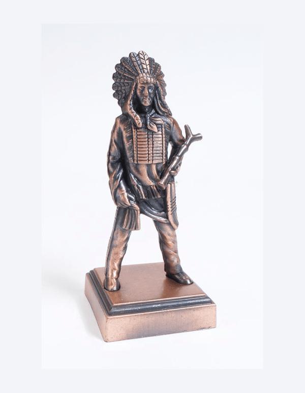 Die Cast Bronze Style Chief Pencil Sharpener