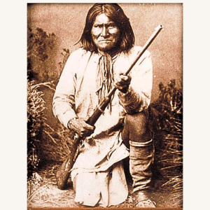 Geronimo Tin-Type Print