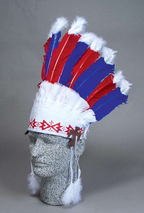 Red White and Blue Headdress