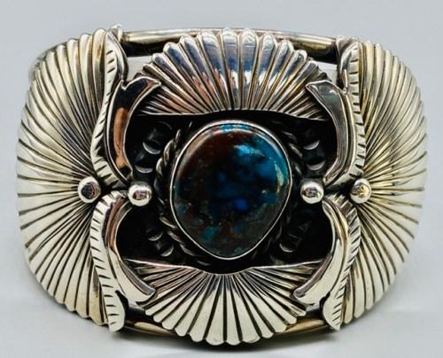 Old Bisbee Turquoise Bracelet