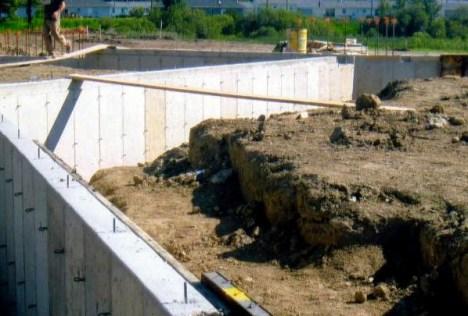 Poured Wall Concrete