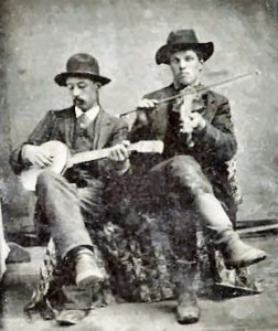 Tintype banjo and fiddle 4