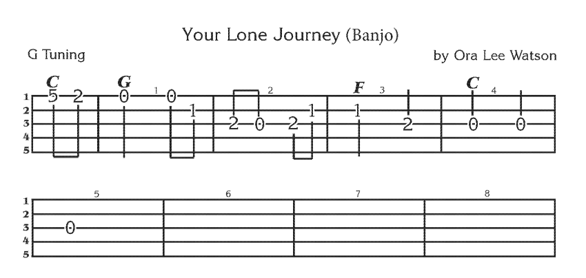 Your Lone Journey - Banjo