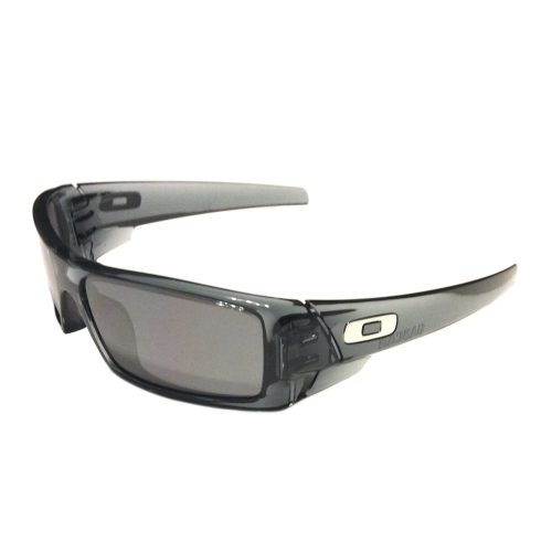 NEW Oakley Gascan Sunglasses - Crystal Black Frame - Black Iridium - 03-481