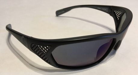 Native Eyewear Andes Sunglasses XTRA Lens Matte Black POLARIZED Blue Reflex