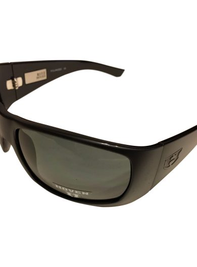 Hoven Vision Ritz Sunglasses - Matte Black - ANSI POLARIZED Grey USPS Priority
